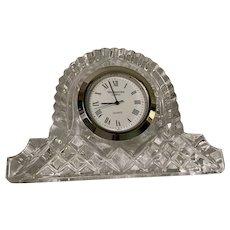 Waterford desk clock.