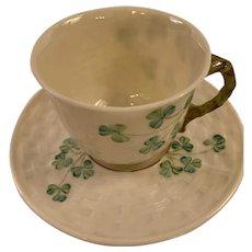Belleek cup & saucer set.