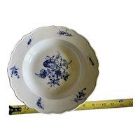 Meissen Porcelain Morning Glory Bowl Germany c1840