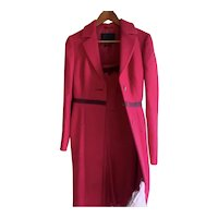 PRADA Coat and Matching Dress! Women 44 Made in Italy Vintage