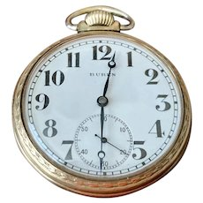 1920s 10k rolled gold plate Pocket Watch