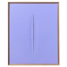 Purple Slice Modern Art Painting by Tony Curry