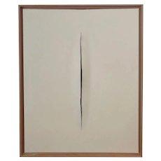 Cream Slice Modern Art Painting by Tony Curry