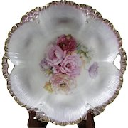 Beautiful Hand Painted R. S. Prussia Bowl