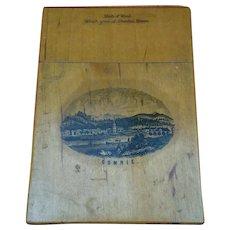 Antique Rare Comrie, Scotland, Dunira House Card Case C1880 19th Century aao