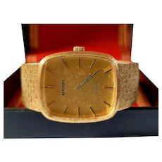 Men's Gold Plated Vintage Sekonda watch