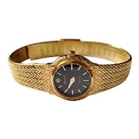 Ladies Gold plated Diamond to dial Cocktailwatch