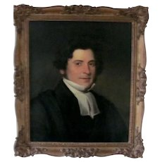 18th/19th century portrait of the Rev F Archer, Attributed to Sir Thomas Lawrence