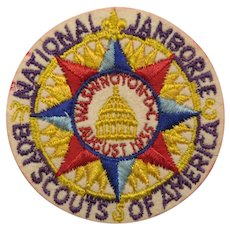 1935 National Jamboree Boy Scouts Of America Patch Washington DC