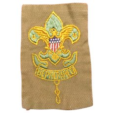 Boy Scout Assistant Scoutmaster Badge / Patch Type 2 Cir: 1920-1937