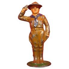 Lead Boy Scout Toy Figure