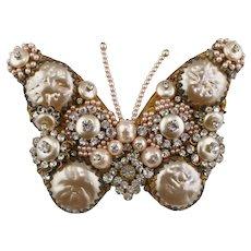 Stanley Hagler butterfly brooch