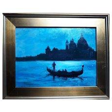 """La Salute"" Venice Oil Painting"
