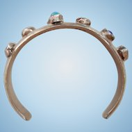 Rare Children's Mexican Stone Bracelet