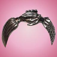 Rare Diane Love for Trifari Hand Bracelet