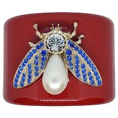 Thot Gioiella Italian Designer Huge Fly Bracelet
