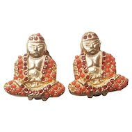 Bergere Buddha Earrings