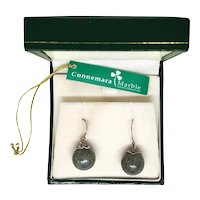 Connemara Marble Earrings Made in Ireland - Original Box