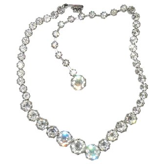 Sparkling Rhinestone Jo-Le Necklace