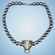 Panther Necklace by KJL for Avon