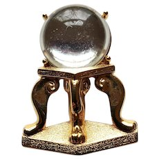 Fortune Tellers Crystal Ball Pin - Monet