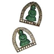 D. Greenbaum Buddha Dress Clips