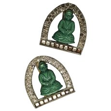 D. Greenbaum Buddha Dress Clips