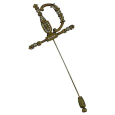 Rare DeNicola Sword Pin