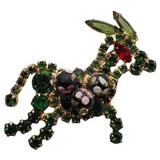 DeLizza & Elster Juliana Green RS Donkey Pin