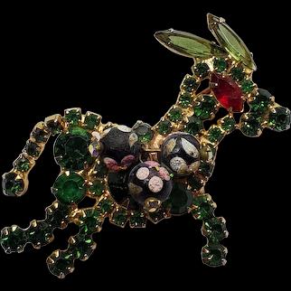 DeLizza & Elster Juliana Green RS Donkey Pin