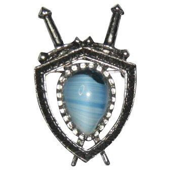 Scottish Shield Pin