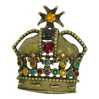 Crown Pin by Jeanne