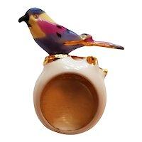 KJL Enamel Bird Ring
