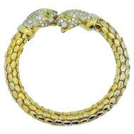 Leopard Snake Mesh Bracelet