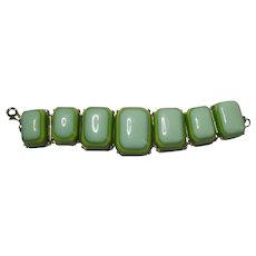 Four Layered Plastic Block Bracelet