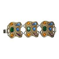 Multi-Colored Mega Rhinestone Bracelet