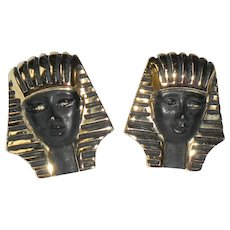 Vintage Sphinx Earrings