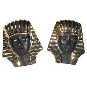 Vintage Sphinx Earrings