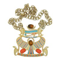 Accessocraft Eye of Horus Egyptian Necklace