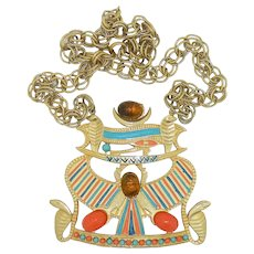 Accessocraft Eye of Horus Egyptian Necklace
