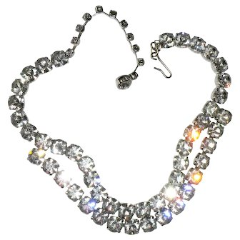 Sparkling Crystal Rhinestone Necklace