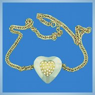 Lovely Heart Shaped Necklace