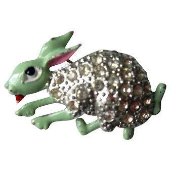 Vintage Bunny Rabbit with Moveable Legs