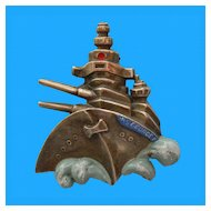 HMS George V Battleship Fur Clip - World War 2 Era