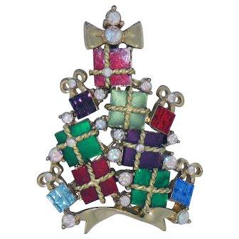 Christmas Present Christmas Tree Pin