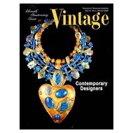 Vintage Fashion and Costume Jewelry Magazine Vol. 12 No 01  - 2002