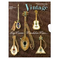 Vintage Fashion and Costume Jewelry Magazine Vol. 13 No 01  - 2003