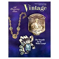 Vintage Fashion and Costume Jewelry Magazine Vol. 14 No 01  - 2004