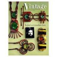Vintage Fashion and Costume Jewelry Magazine Vol. 14 No 03  - 2004