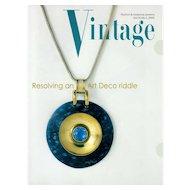 Vintage Fashion and Costume Jewelry Magazine Vol. 14 No 04 - 2004
